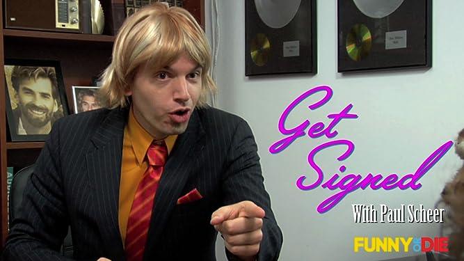 Get Signed With Paul Scheer