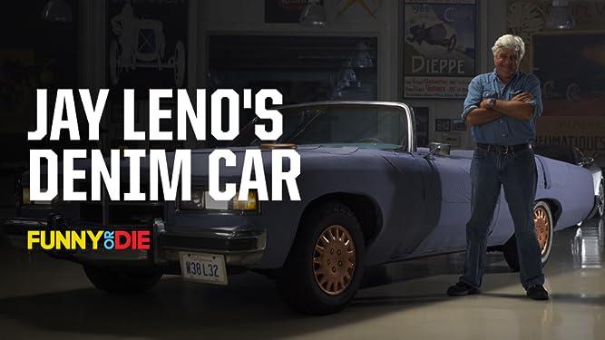 Jay Leno's Denim Car