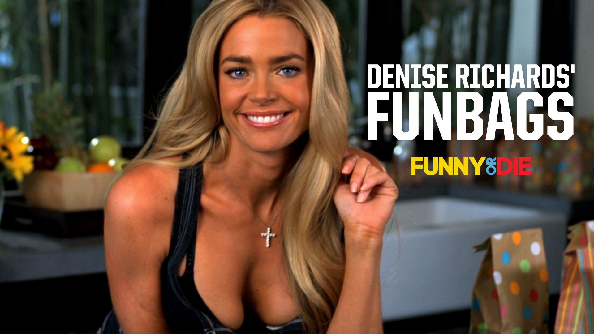 Denise Richards' Funbags