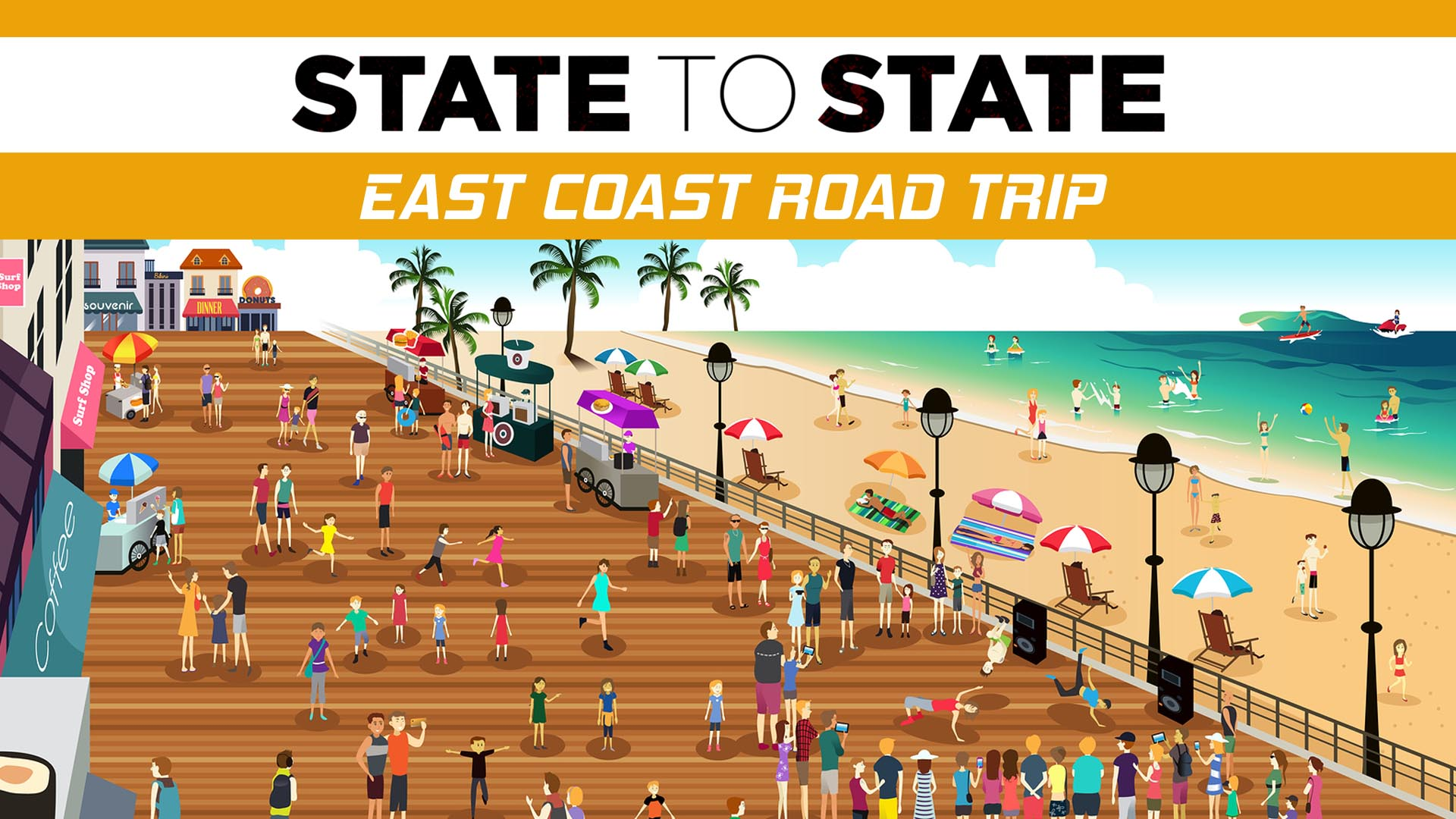 State to State: East Coast Road Trip