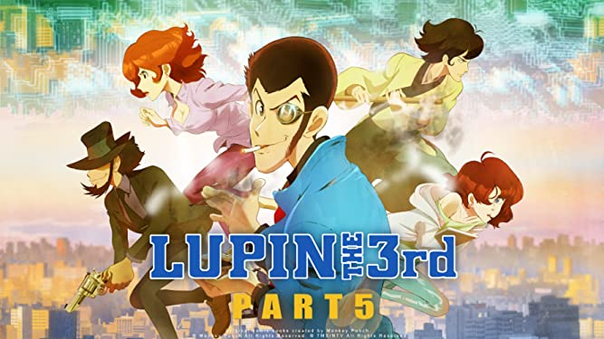 Lupin the 3rd, Part 5 (English Dub)
