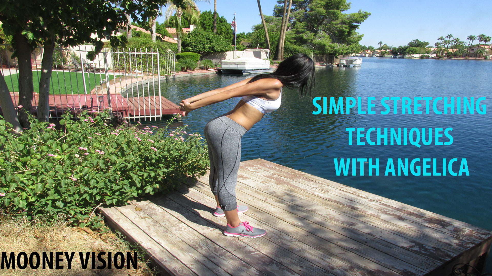 Simple Stretching Techniques With Angelica
