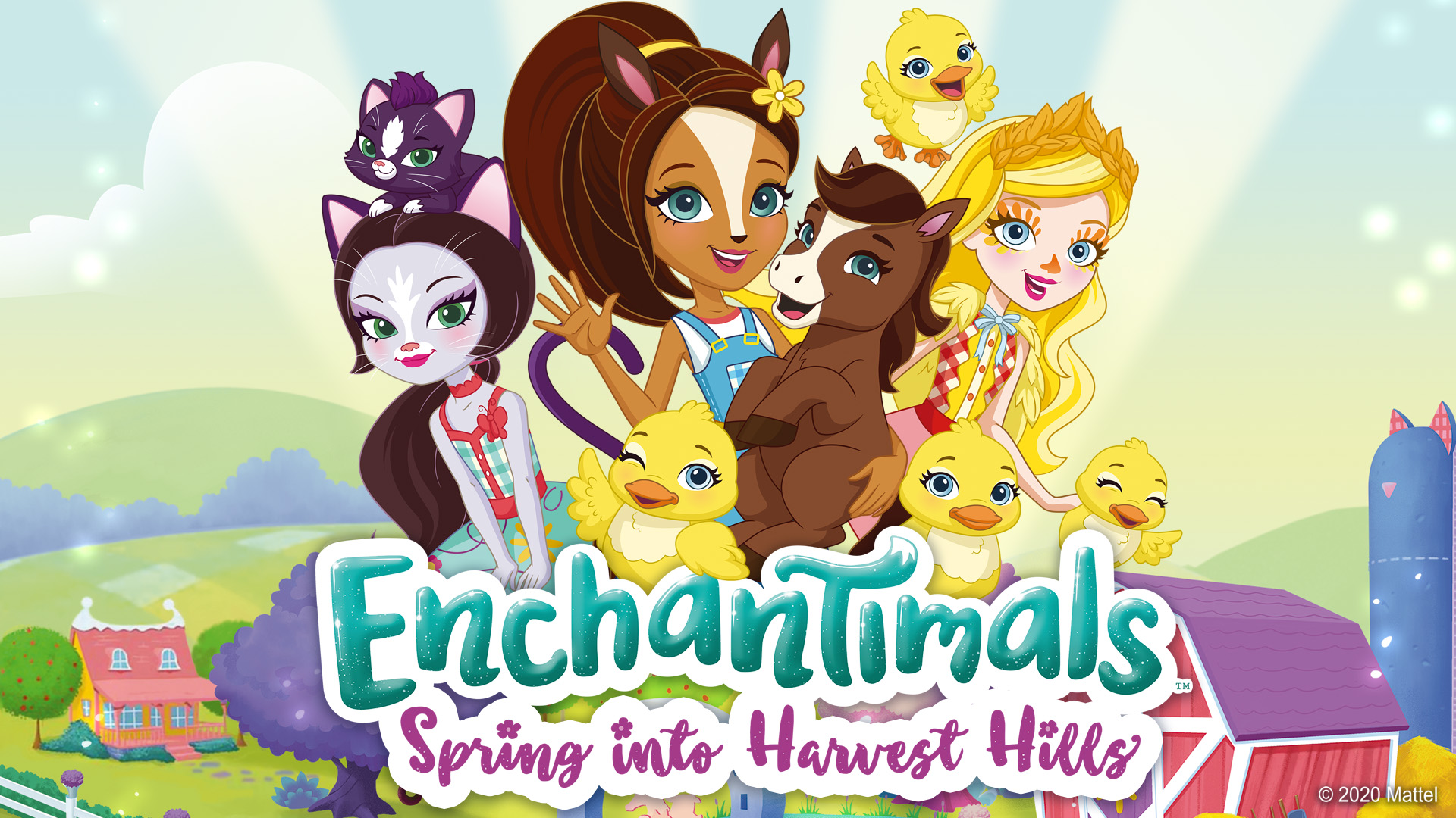 Enchantimals Spring into Harvest Hills