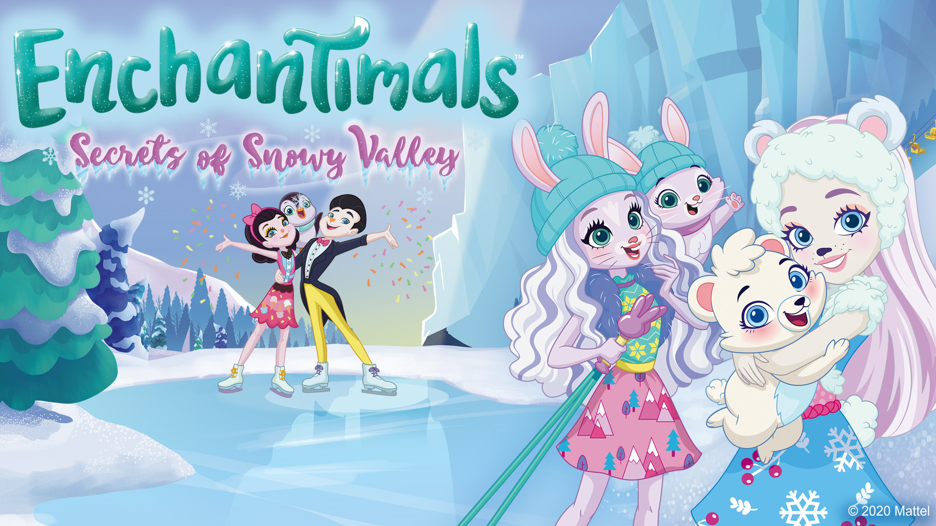 Enchantimals Secrets of Snowy Valley
