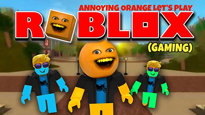 Amazon com: Watch Clip: Annoying Orange Let's Play - Roblox