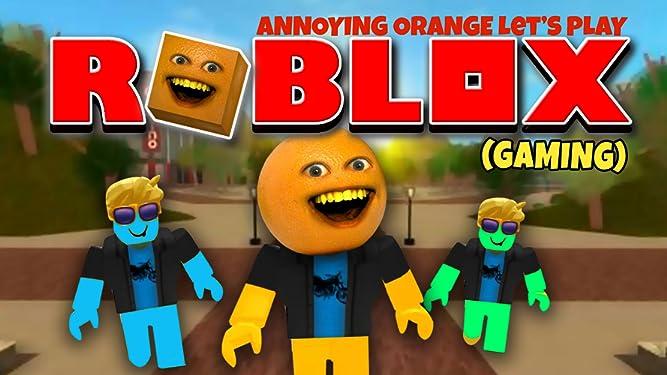 Amazon Com Watch Clip Annoying Orange Let S Play Roblox