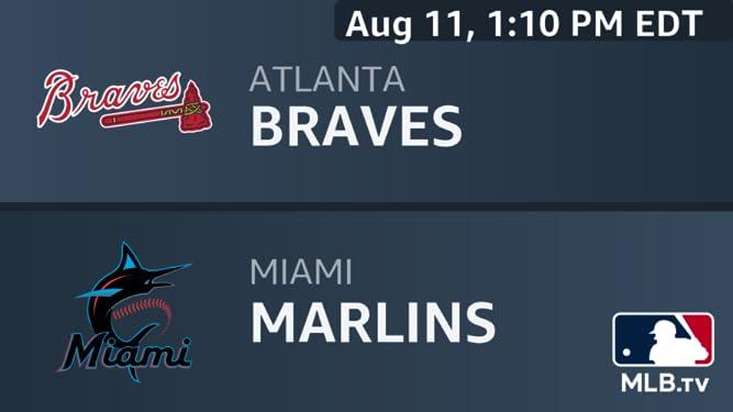 Amazon com: Atlanta Braves at Miami Marlins