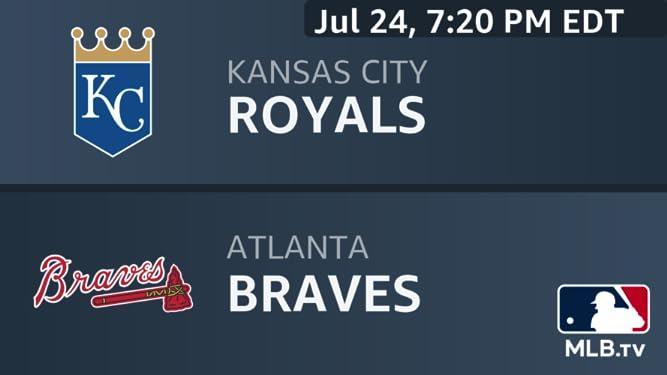 Amazon com: Kansas City Royals at Atlanta Braves