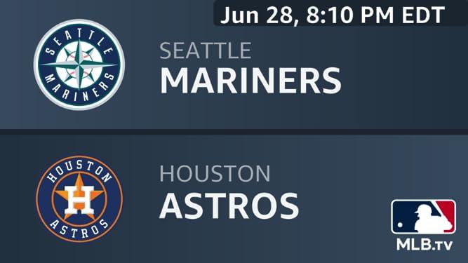 Amazon com: Seattle Mariners at Houston Astros