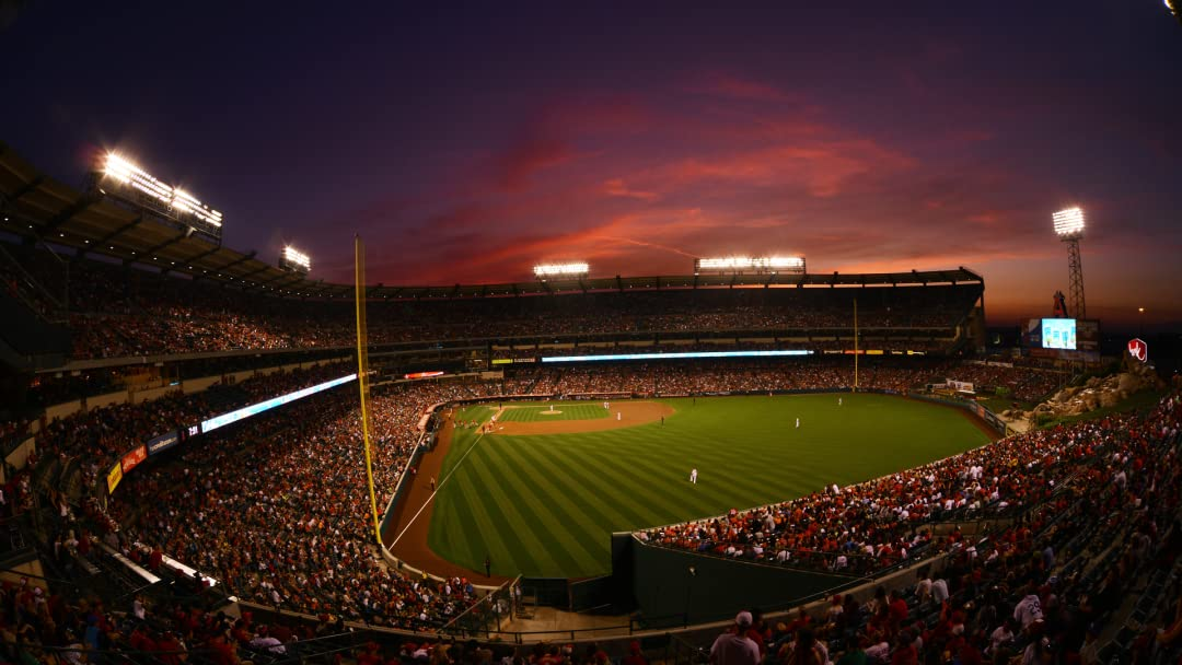 Amazon.com: Texas Rangers at Los Angeles Angels