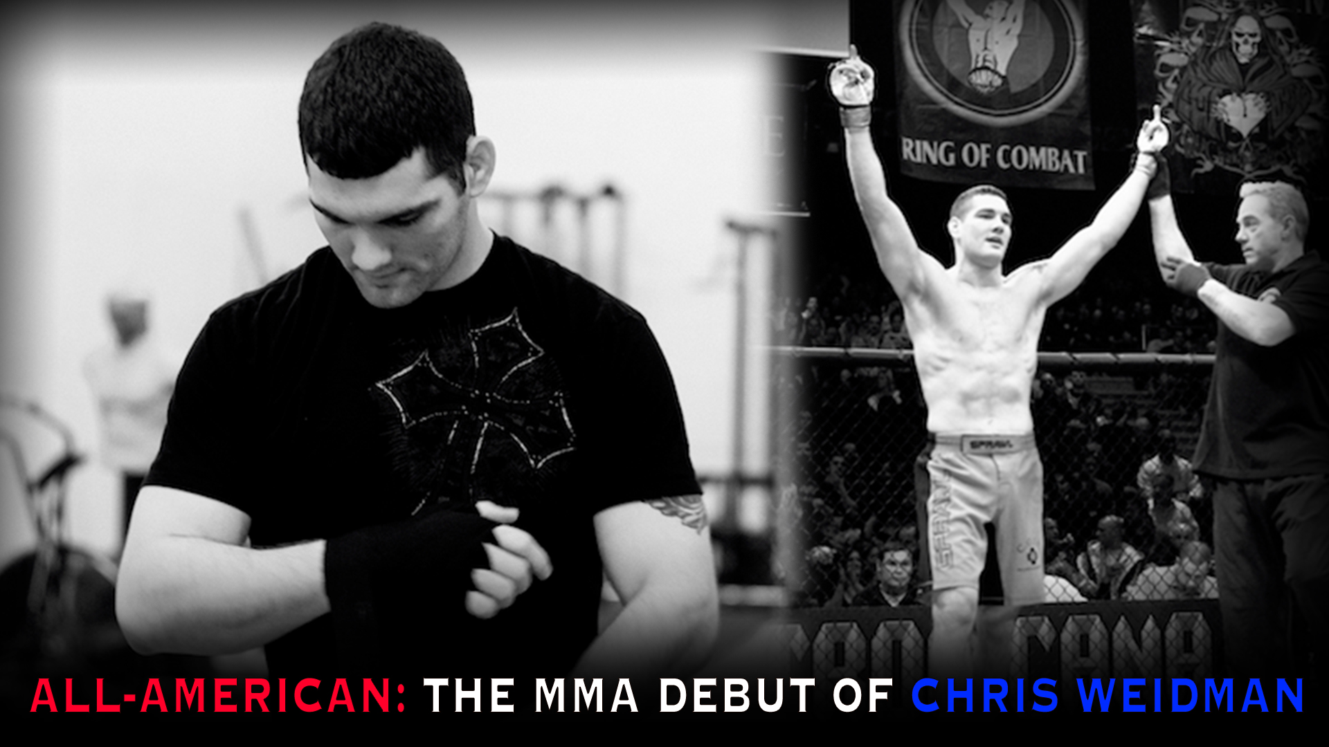 All-American: The MMA Debut of Chris Weidman