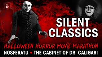 Halloween Horror Movie Marathon: Silent Classics - Nosferatu - The Cabinet of Dr. Caligari