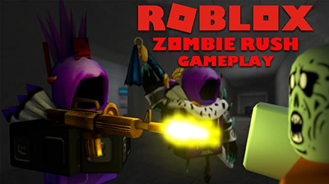 Roblox Zombie Song Video Amazon Com Watch Clip Roblox Zombie Rush Gameplay Prime Video