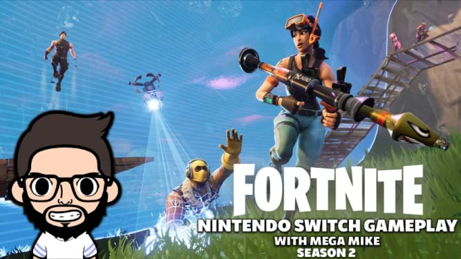 Watch Fortnite Nintendo Switch Gameplay With Mega Mike