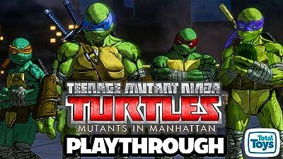 Clip: Teenage Mutant Ninja Turtles Mutants In Manhattan Playthrough