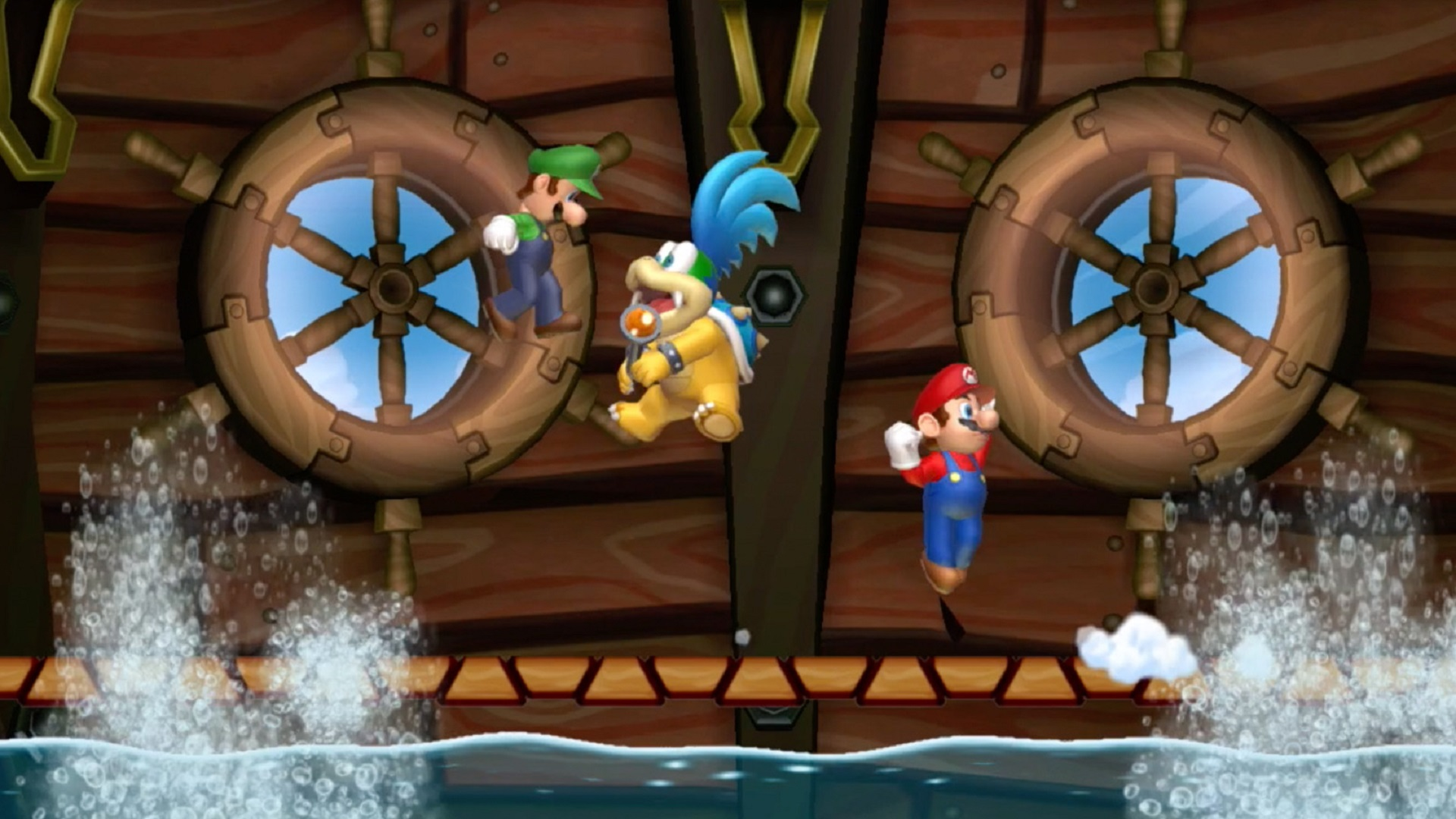 Amazon Com Watch New Super Mario Bros U Deluxe Multiplayer Gameplay Prime Video