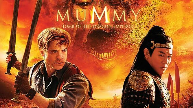 Amazon Com The Mummy Tomb Of The Dragon Emperor Brendan Fraser Jet Li Maria Bello John Hannah