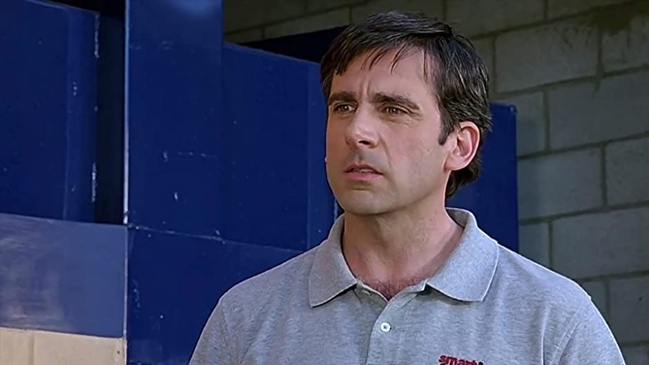 Image result for steve carell 40 yr old virgin
