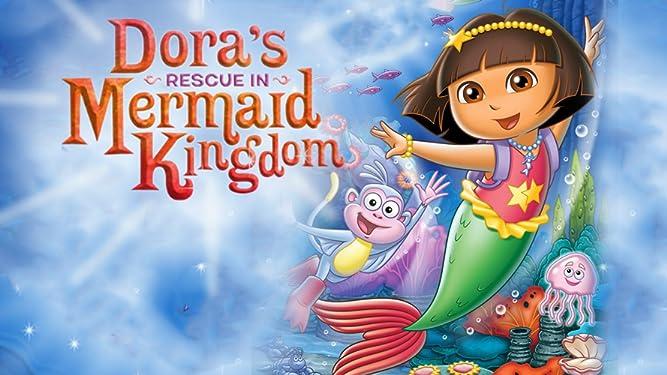 Dora's Rescue in Mermaid Kingdom