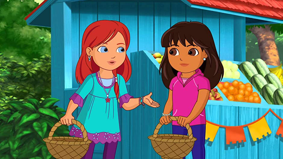 Dora And Friends Into The City Dragon In The School
