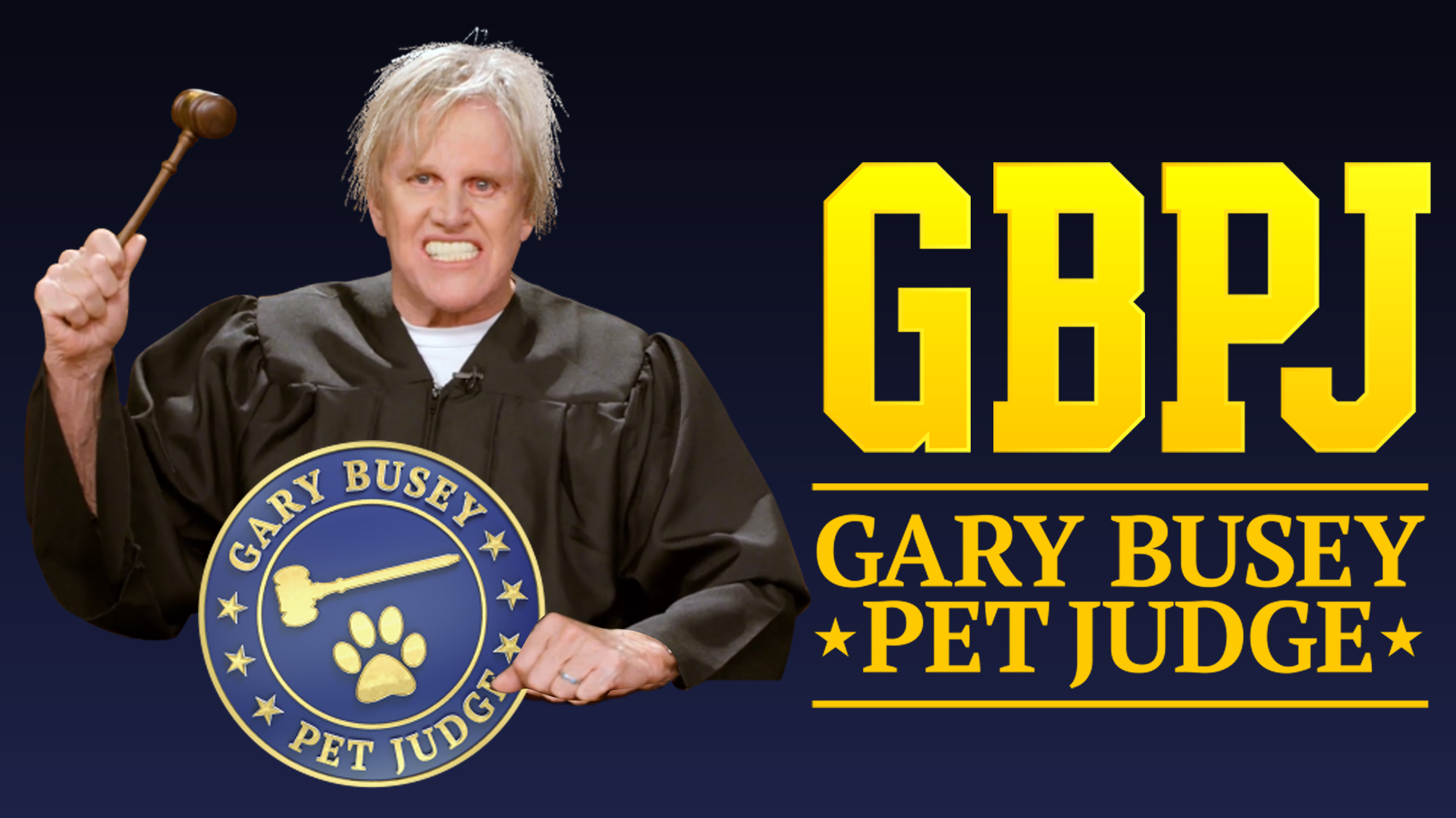 Gary Busey, Pet Judge