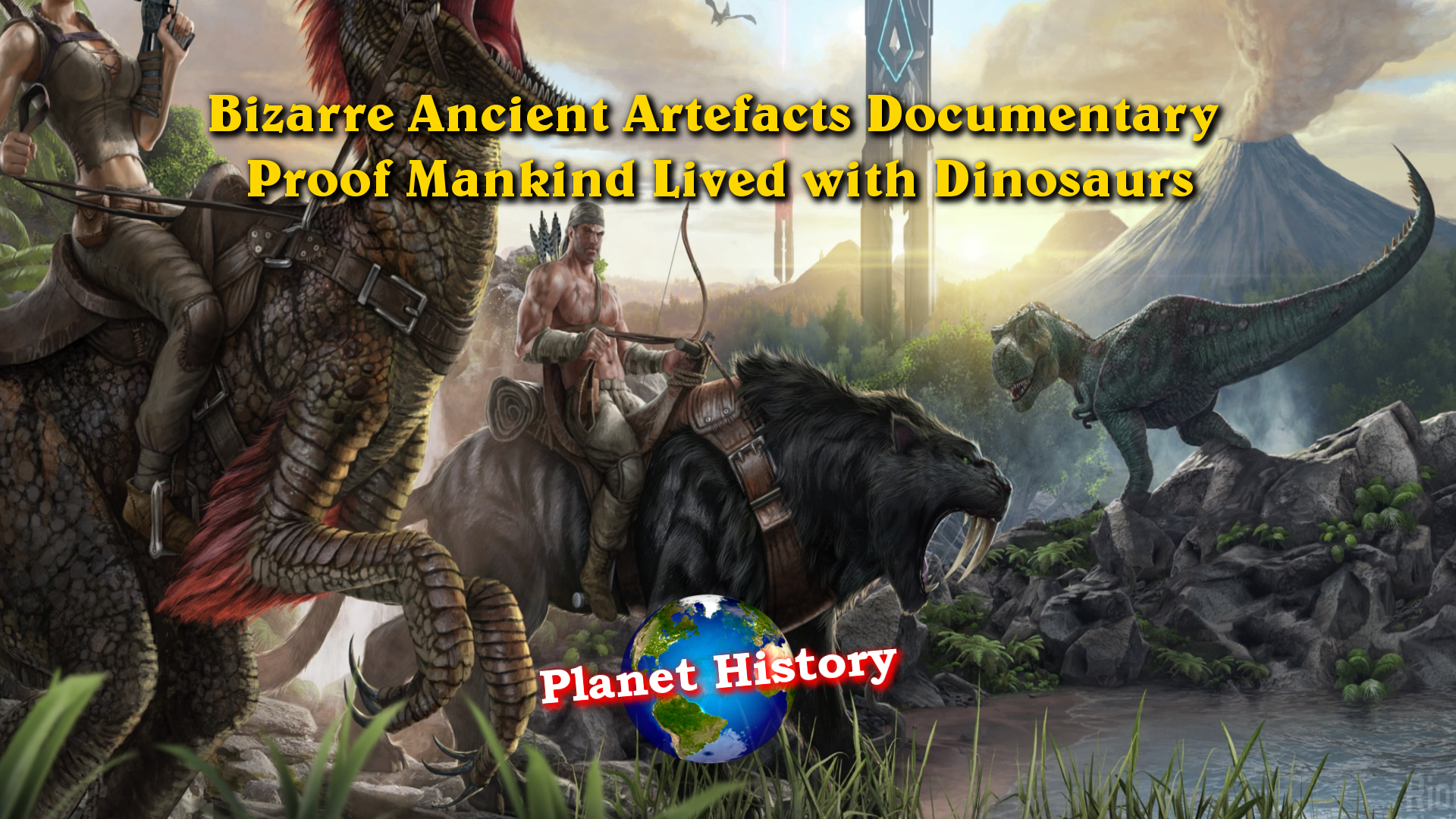Bizarre Ancient Artefacts Documentary - Proof Mankind Lived with Dinosaurs