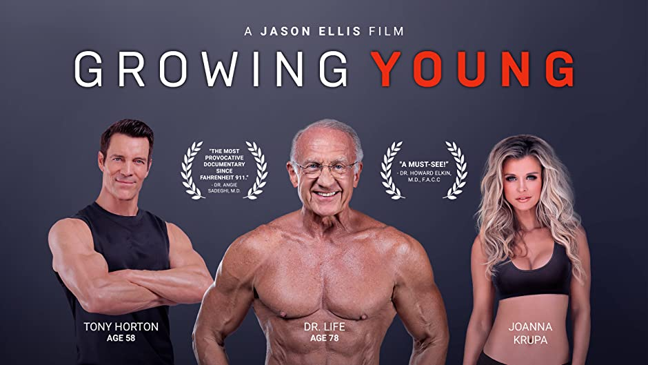 Amazon.com: Growing Young: Tony Horton, MD, PhD Dr. Jeffrey Life ...