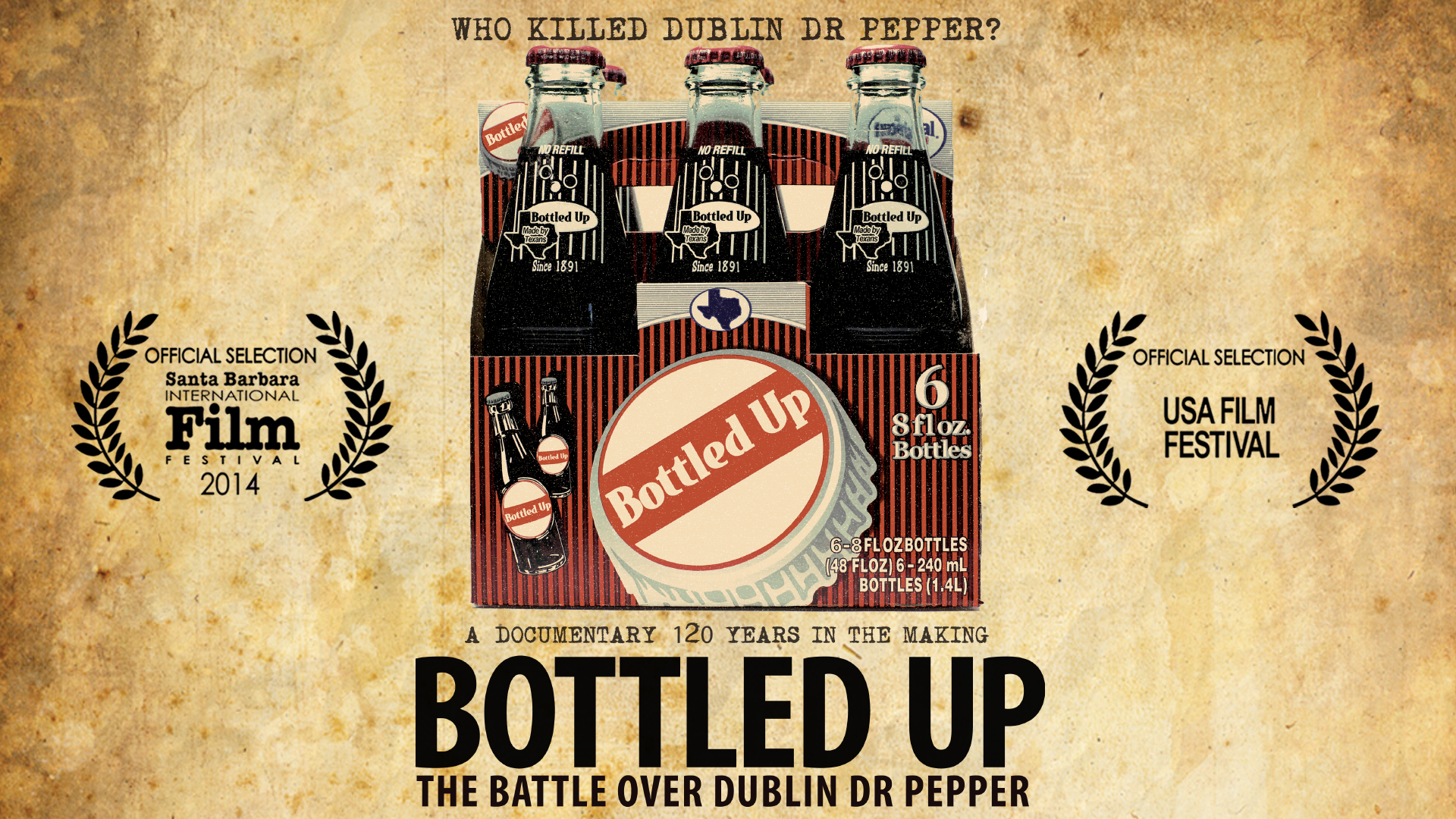 Bottled Up - The Battle Over Dublin Dr Pepper