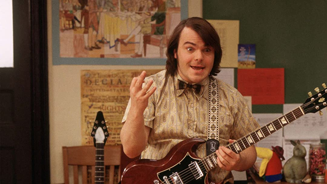 School of Rock films set in school