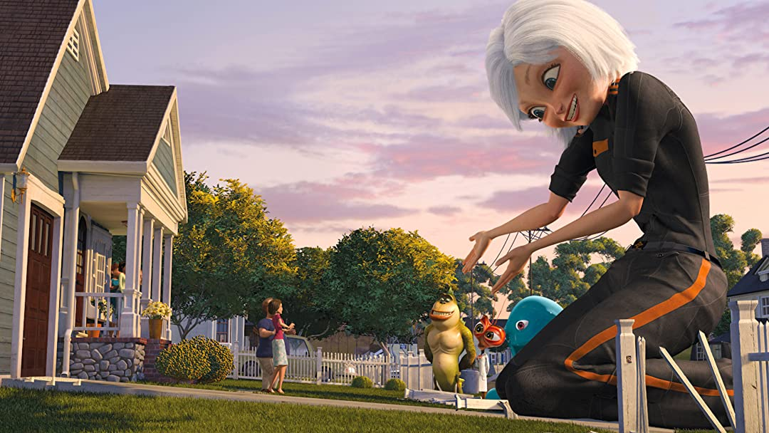 Amazon Com Monsters Vs Aliens Paul Rudd Rob Letterman Conrad Vernon Rob Letterman