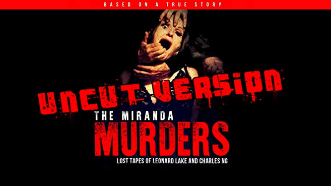Amazon Com Watch The Miranda Murders Uncut Lost Tapes Of