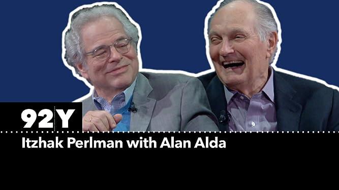 Itzhak Perlman with Alan Alda