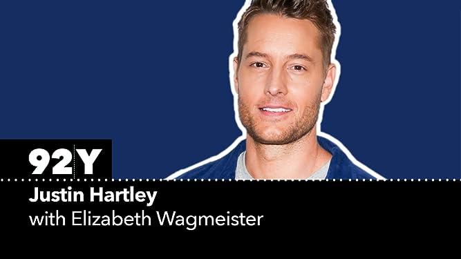 Justin Hartley with Elizabeth Wagmeister