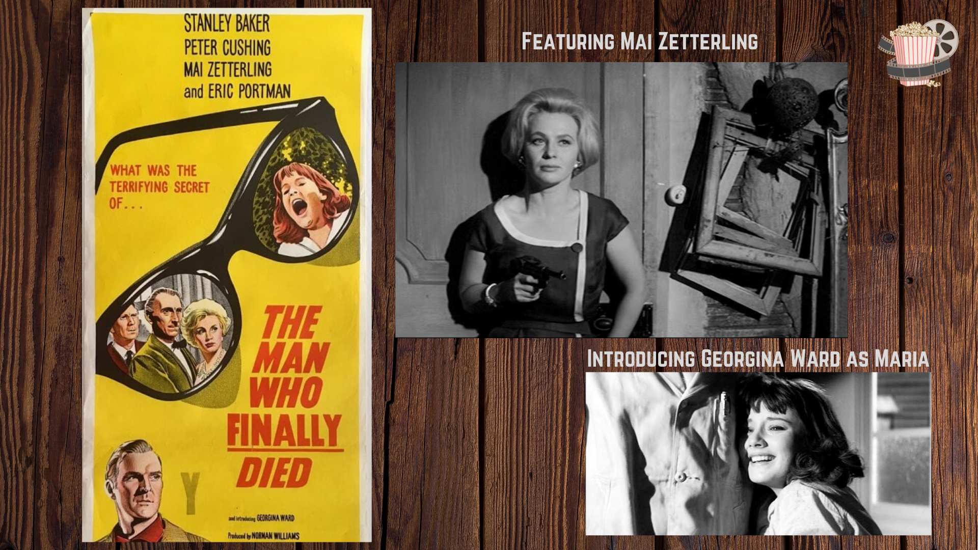 Stanley Baker Mystery Thriller Man Who Finally Died