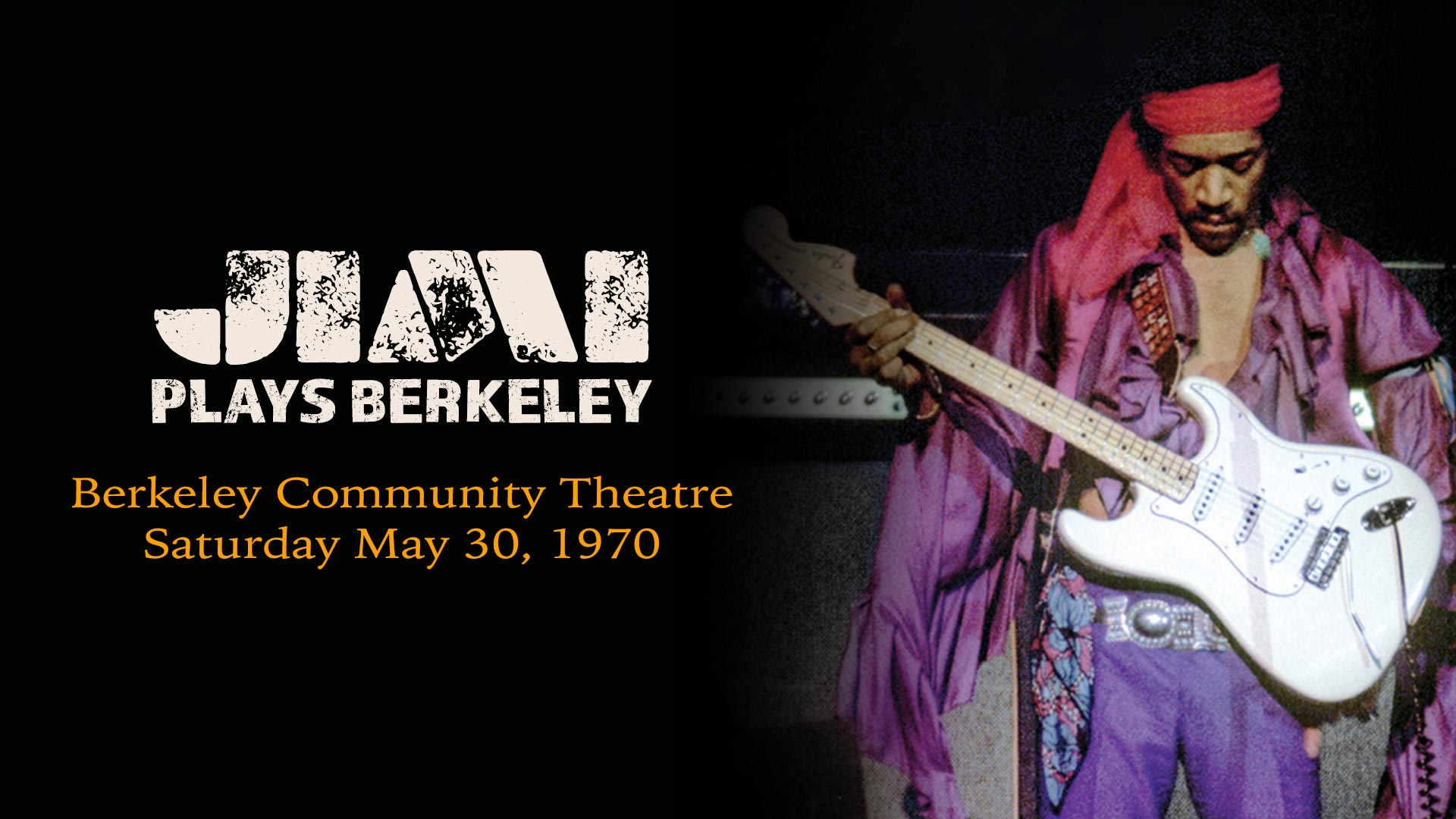 Jimi Hendrix: Jimi Plays Berkeley (Live Performance)