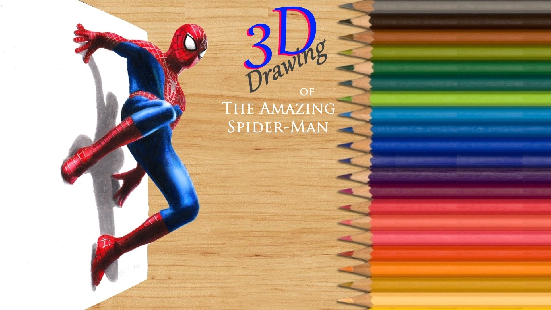 Amazon com watch 3d drawing of the amazing spider man prime video