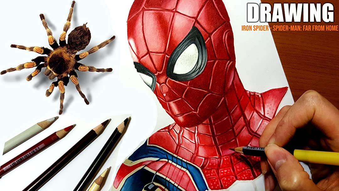 Watch Clip Drawing Iron Spider Spider Man Far From Home Prime Video