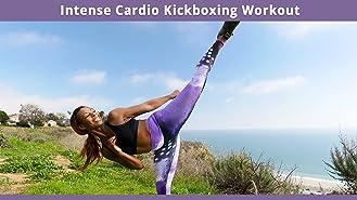 Intense Cardio Kickboxing Workout
