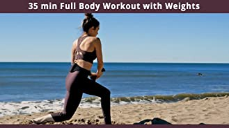 35 min Full Body Workout with Weights