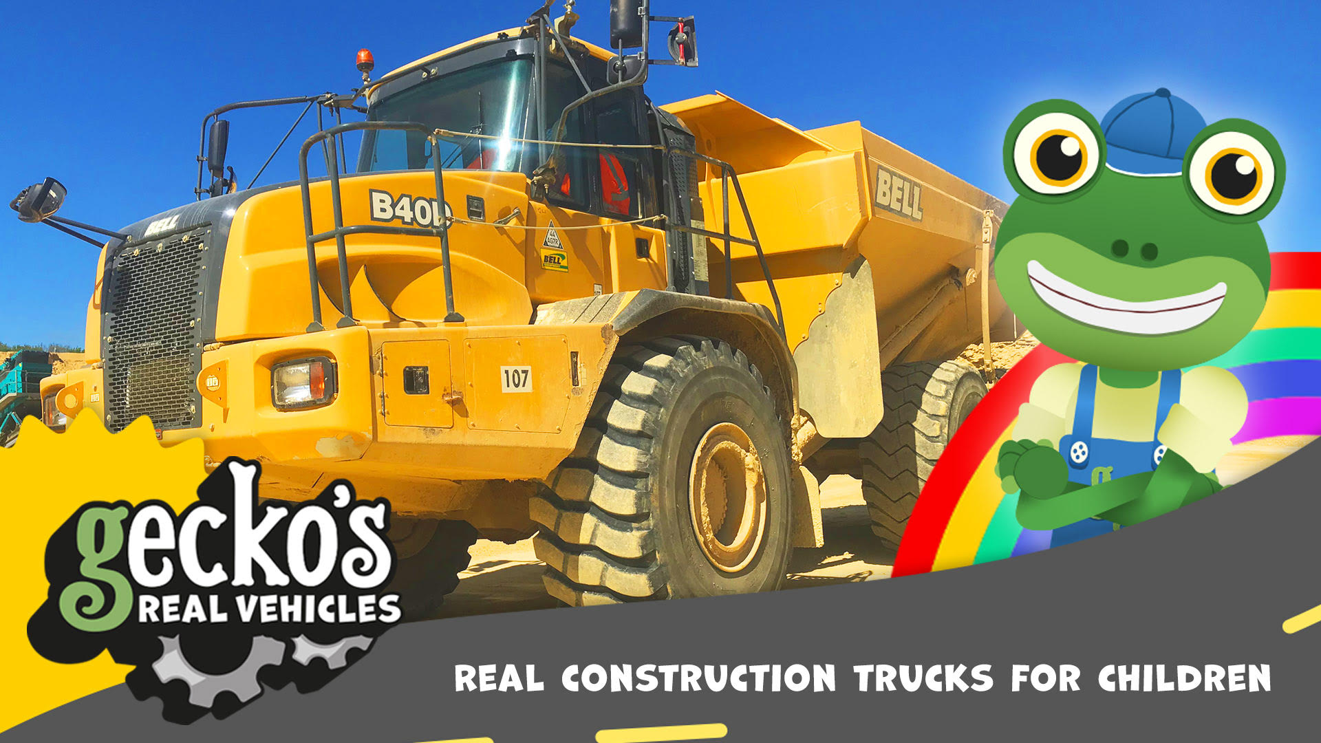 Gecko's Garage Real Vehicles Volume 2 (Trucks, Construction and Large Vehicles)