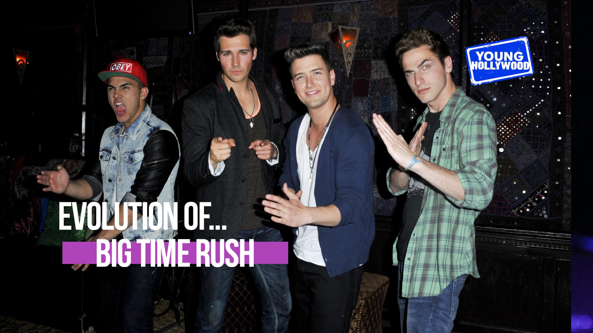 Evolution Of: Big Time Rush