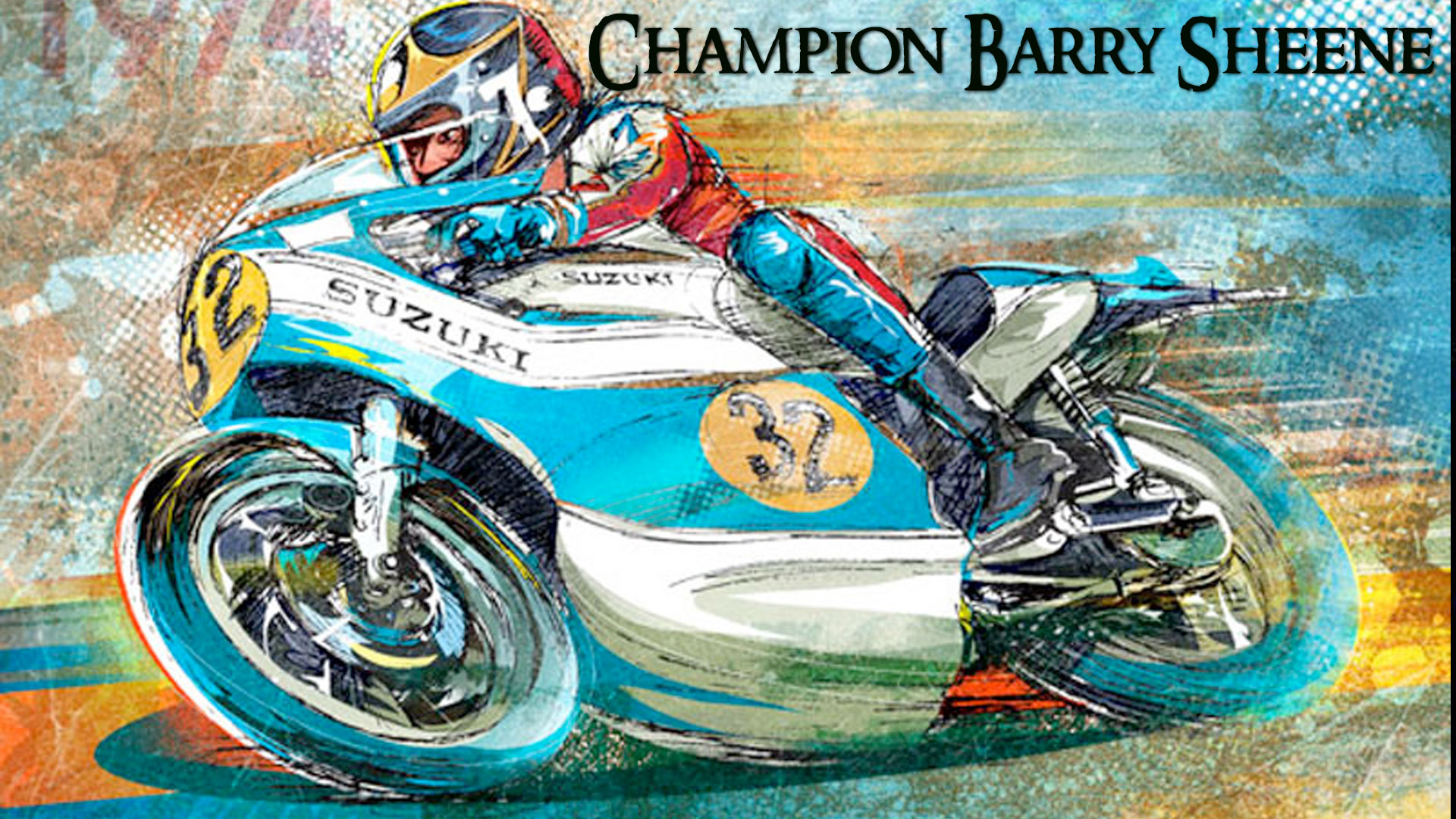 Champion Barry Sheene: Profile of a Legend