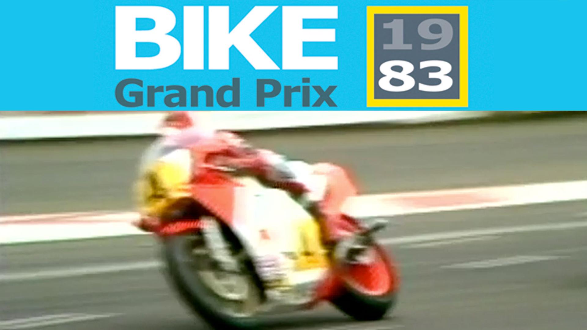 Silverstone 83 The British Motorcycle Grand Prix