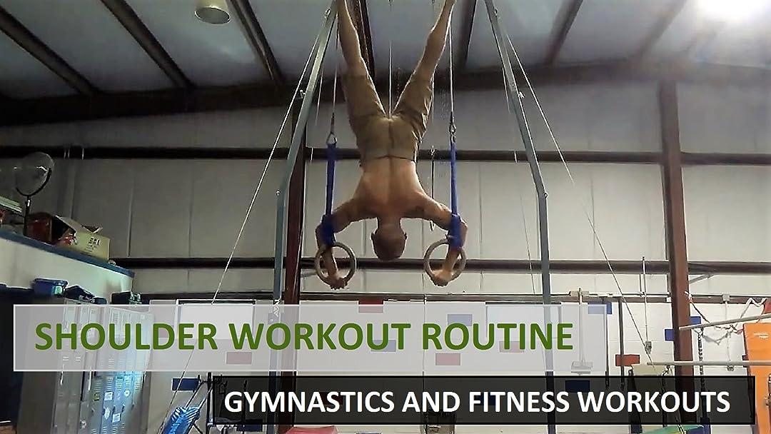 Amazon com: Watch Shoulder Workout Routine - Gymnastics and
