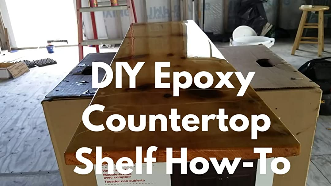 Watch Diy Epoxy Countertop Shelf How To Prime Video