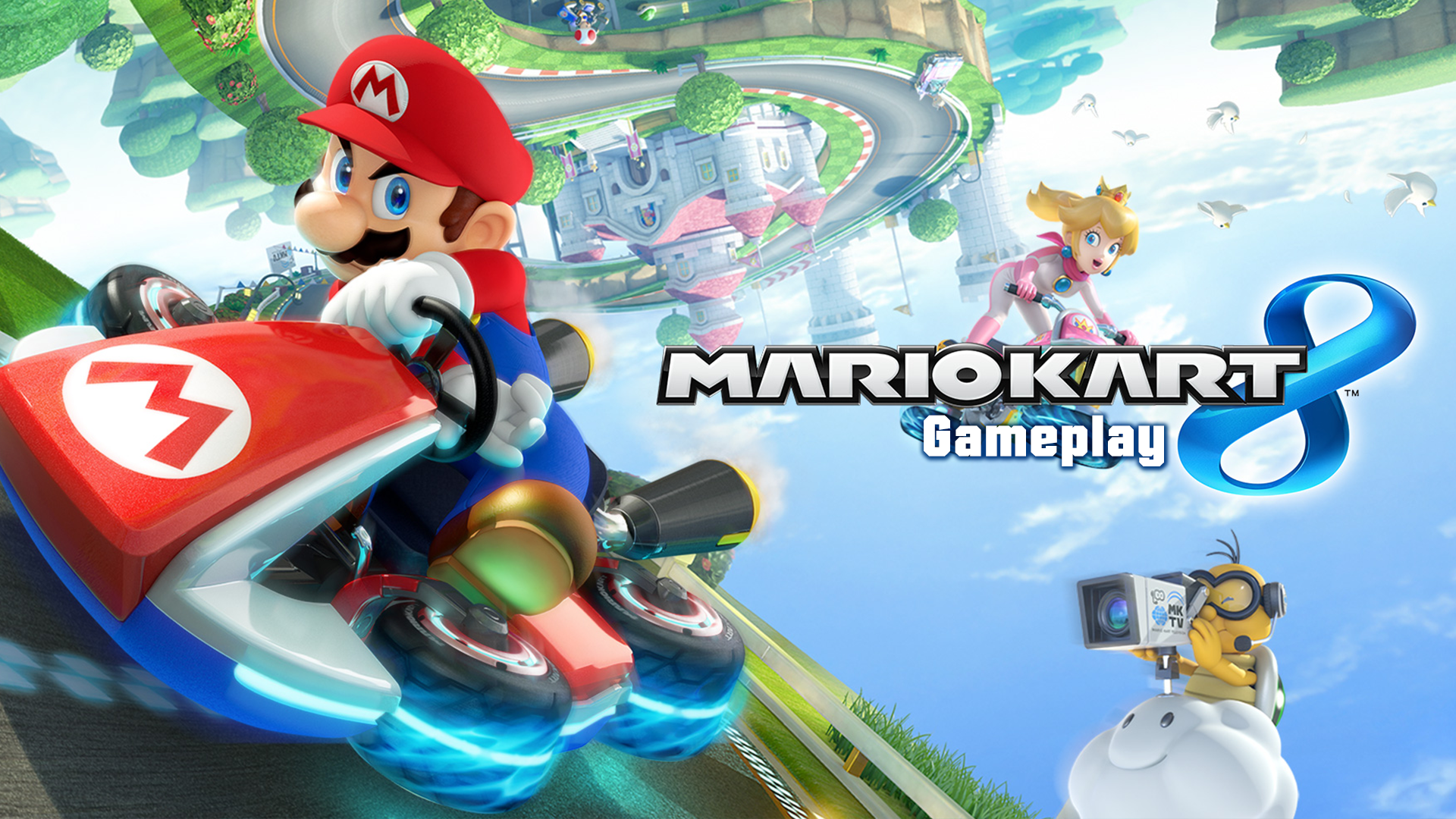 Amazon Com Watch Mario Kart 8 Gameplay Prime Video