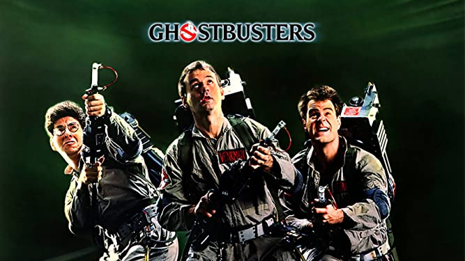 The 1980s Ghostbusters movie poster