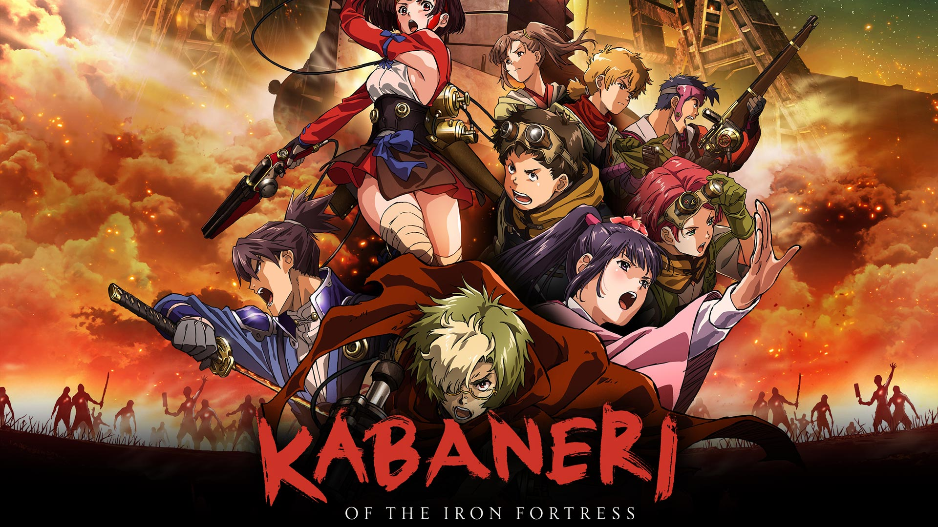 Kabaneri of the Iron Fortress (Original Japanese Version) (English Subtitled)