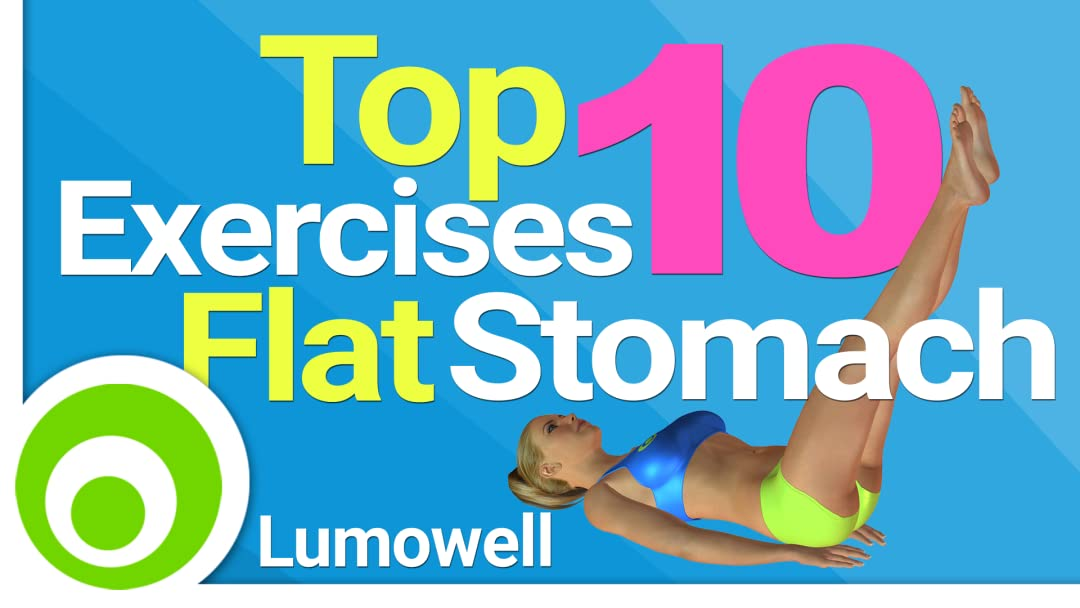 Watch Top 10 Exercises For A Flat Stomach: Best Exercises