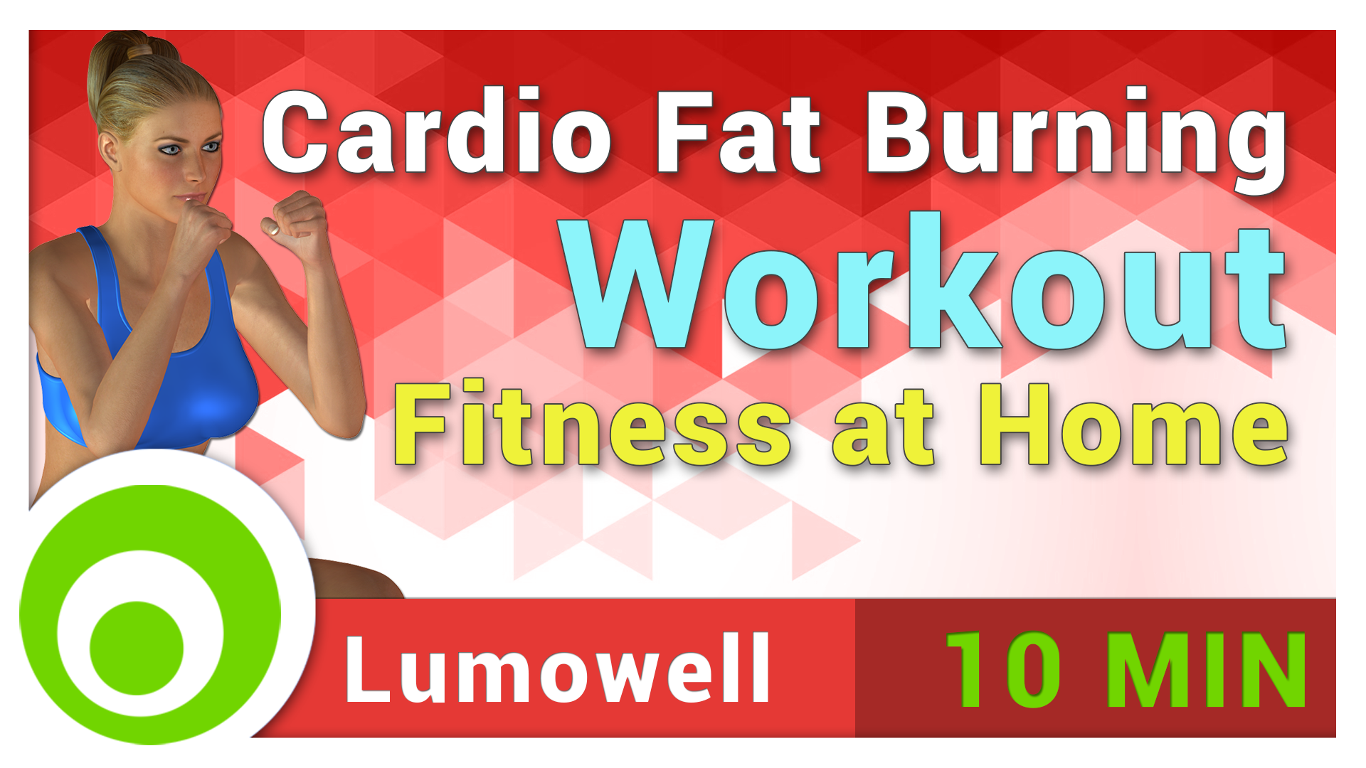 Cardio Fat Burning Workout - Fitness at Home